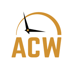Alexander Clocks and Watches Logo Design