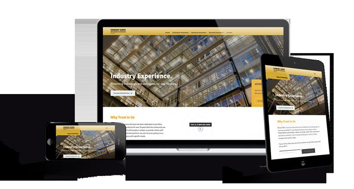 Website Portfolio of Contractor Insurance