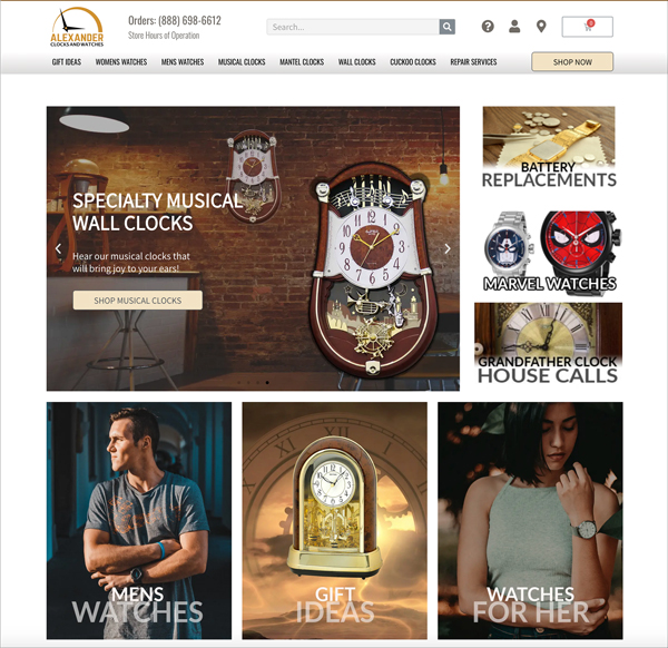 Creative Ecommerce WordPress Design