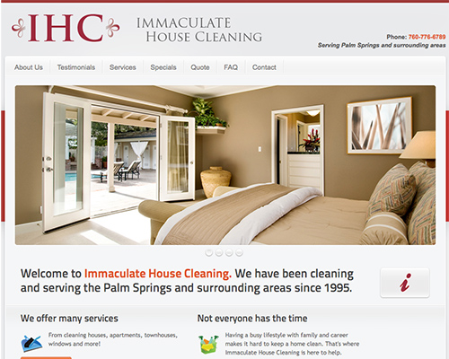 Design Work for a Cleaning Company.